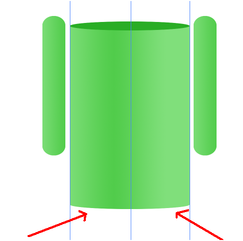 Digital art : Android Icon Step-11