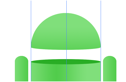 Digital art : Android Icon Step-15