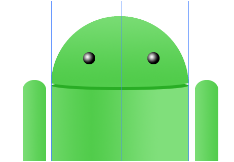 Digital art : Android Icon Step-17
