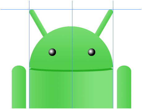 Digital art : Android Icon Step-18