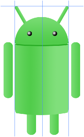 Digital art : Android Icon Step-19