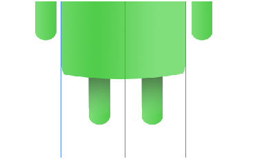 Digital art : Android Icon Step-21