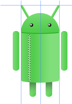 Digital art : Android Icon Step-22