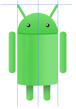 Digital art : Android Icon Step-23
