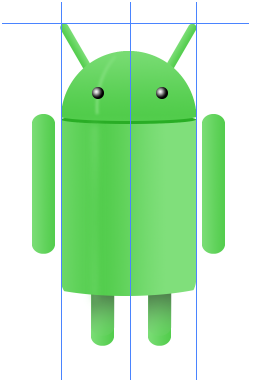 Digital art : Android Icon Step-24
