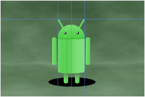Digital art : Android Icon Step-35