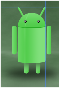 Digital art : Android Icon Step-36