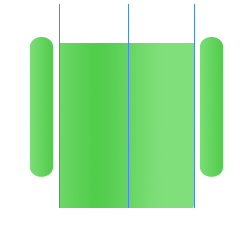Digital art : Android Icon Step-7