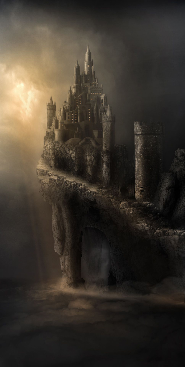 Cliff Castle photo manipulation